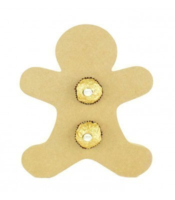 18mm Freestanding Christmas Gingerbread Man Ferrero Rocher Chocolates Holder