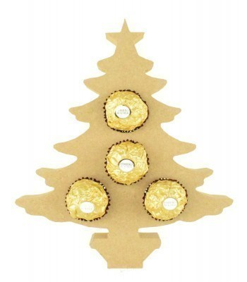 18mm Freestanding Christmas Tree Ferrero Rocher Chocolates Holder