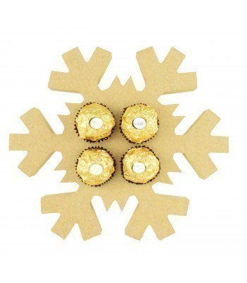 18mm Freestanding Christmas Snowflake Ferrero Rocher Chocolates Holder