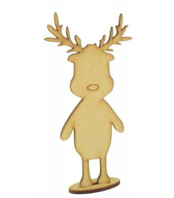 Laser Cut 3mm Reindeer in a stand