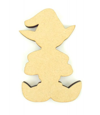 Laser Cut 6mm Santa`s Little Helper/Elf Christmas Decoration