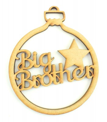 Laser Cut 'Big Brother' Bauble