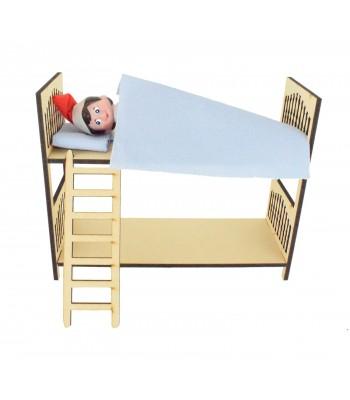 Laser cut 6mm Elf Bunk Beds