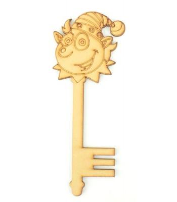 Laser Cut Magic Elf Christmas Key