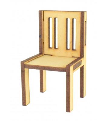 Laser cut 3mm Miniature Chair