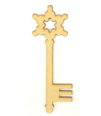 Laser Cut Magic Bold Snowflake Christmas Key