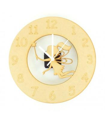 Laser cut Fairy Clock with Clock Mechanism