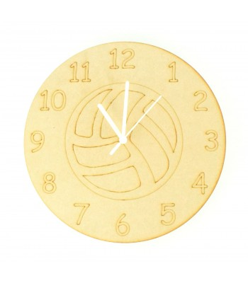Laser cut Football Clock with Clock Mechanism