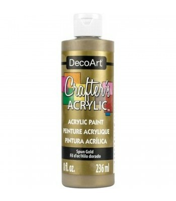 DecoArt Spun Gold Crafters Acrylic Paint 8oz