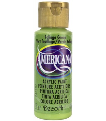 Americana Acrylic Paint - Foliage Green 2oz