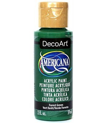 Americana Acrylic Paint - Forest Green 2oz