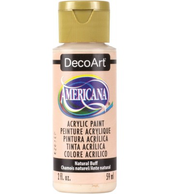 Americana Acrylic Paint - Natural Buff 2oz