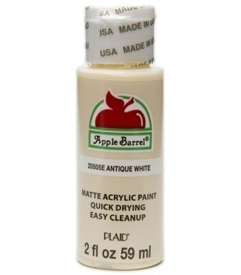 Plaid Apple Barrel Acrylic Paint - Antique White 2oz