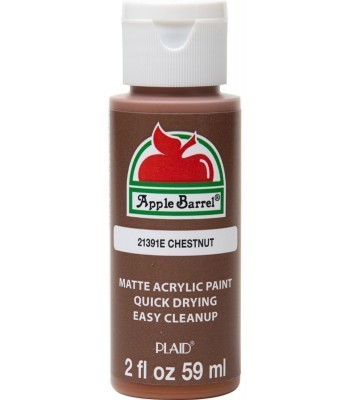Plaid Apple Barrel Acrylic Paint - Chestnut 2oz