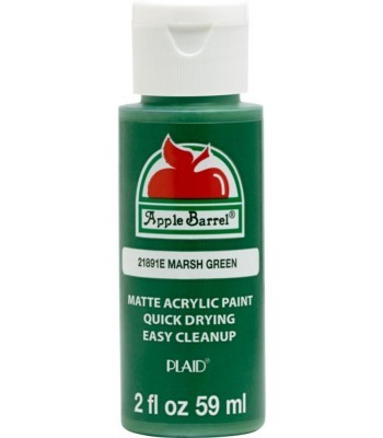 Plaid Apple Barrel Acrylic Paint - Marsh Green 2oz