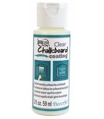 DecoArt Clear Chalkboard Paint 2oz