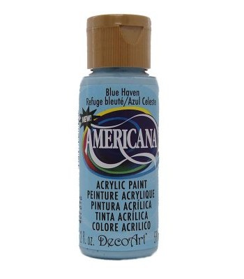 2oz Blue Haven Amer Acrylic Craft Paint