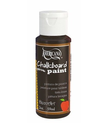 Americana Black Chalkboard Paint 2oz