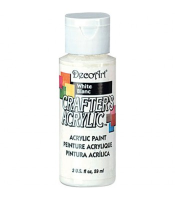 DecoArt Crafters Acrylic - White 2oz