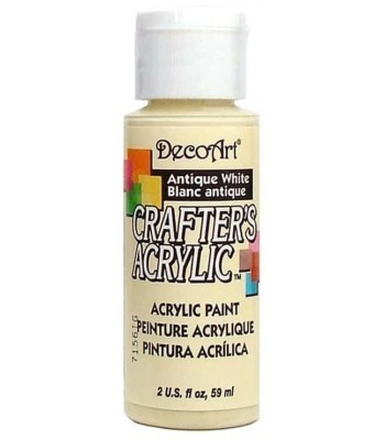 DecoArt Crafters Acrylic - Antique White 2oz