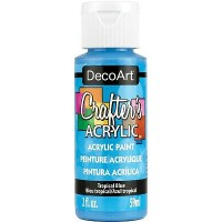 DecoArt Crafters Acrylic - Tropical Blue 2oz