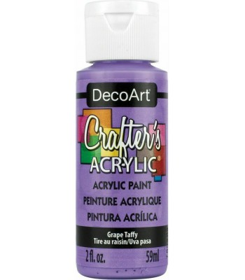 DecoArt Crafters Acrylic - Grape Taffy 2oz