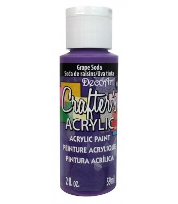 DecoArt Crafters Acrylic - Grape Soda 2oz