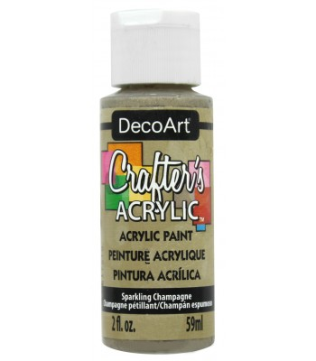 DecoArt Crafters Acrylic - Sparkling Champagne 2oz