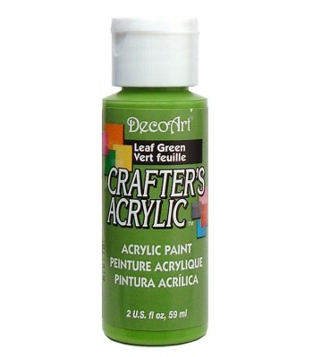 DecoArt Crafters Acrylic - Leaf Green 2oz