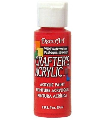 DecoArt Crafters Acrylic - Wild Watermelon 2oz