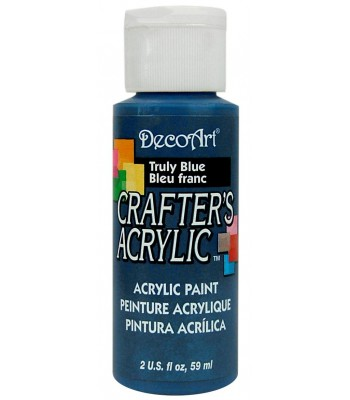 DecoArt Crafters Acrylic - Truly Blue 2oz