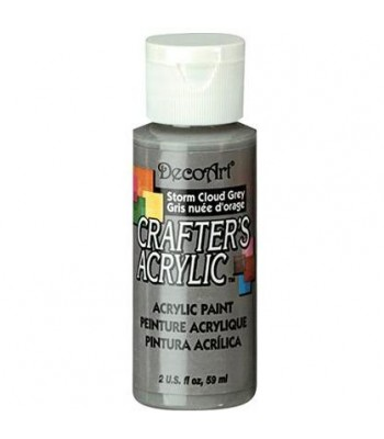 DecoArt Crafters Acrylic - Storm Cloud Grey 2oz