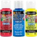 Crafters Acrylic Neons 2oz