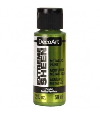 DecoArt Peridot Extreme Sheen Metallic Craft Paints. 2oz