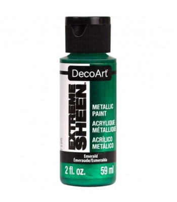 DecoArt Emerald Extreme Sheen Metallic Craft Paints. 2oz