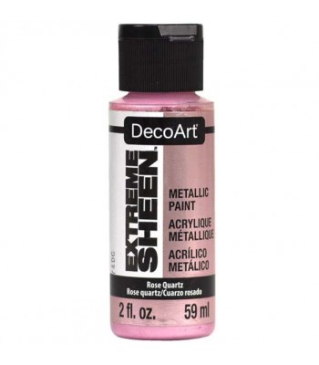 DecoArt Rose Quartz Extreme Sheen Metallic Craft Paints. 2oz