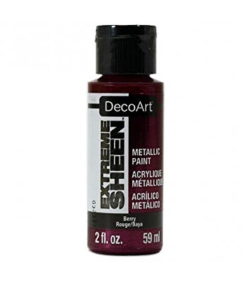 DecoArt Berry Extreme Sheen Metallic Craft Paints. 2oz