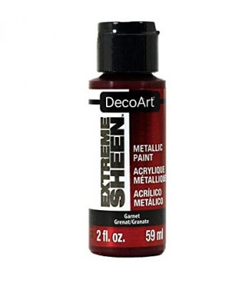 DecoArt Garnet Extreme Sheen Metallic Craft Paints. 2oz