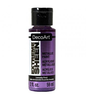 DecoArt Lavender Frost Extreme Sheen Metallic Craft Paints. 2oz