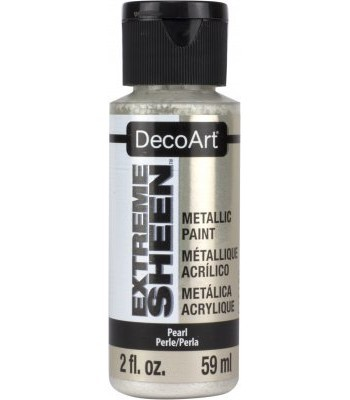 DecoArt Pearl Extreme Sheen Metallic Craft Paints. 2oz