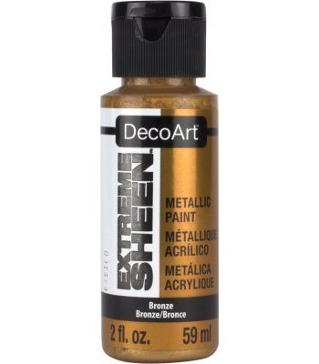 DecoArt Bronze Extreme Sheen Metallic Craft Paints. 2oz
