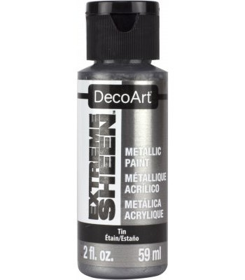 DecoArt Tin Extreme Sheen Metallic Craft Paints. 2oz
