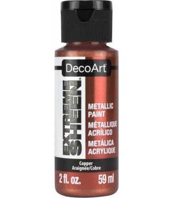 DecoArt Copper Extreme Sheen Metallic Craft Paints. 2oz