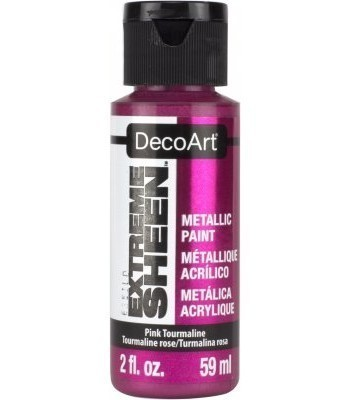 DecoArt Pink Tourmaline Extreme Sheen Metallic Craft Paints. 2oz