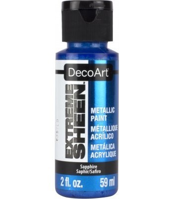 DecoArt Sapphire Extreme Sheen Metallic Craft Paints. 2oz