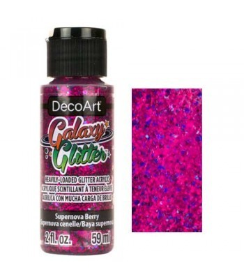 Supernova Berry Galaxy Glitter Paint - 2oz