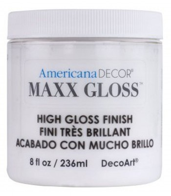 Americana Décor Maxx Gloss - White China 8oz