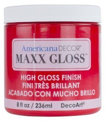 Americana Décor Maxx Gloss - Candy Apple 8oz