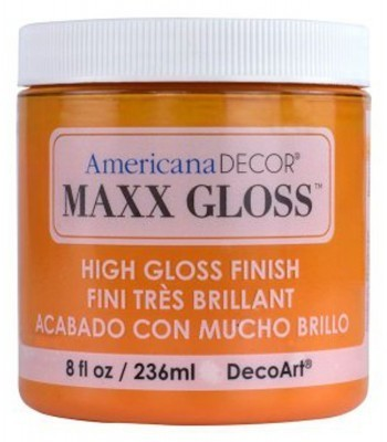 Americana Décor Maxx Gloss - Orange Slice 8oz
