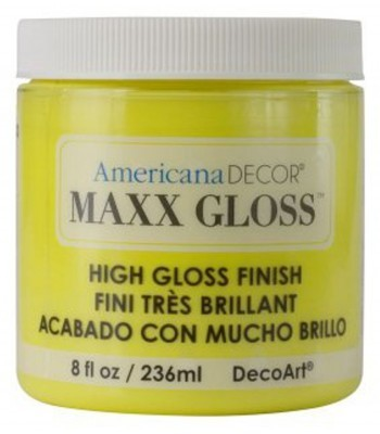 Americana Décor Maxx Gloss - Lemon Spritzer 8oz